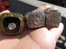 1970 1972 2011 Boston Bruins Stanley Cup championship ring Set Fan Men Gift