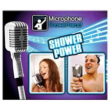 Microphone Shower Head Bath Bathroom Novelty Fun Gift Sing In The Shower