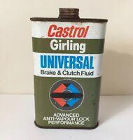 Vintage Castrol Girling Tin Universal Brake & Clutch fluid 500ml  Film TV Prop