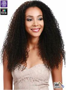 DIONNE | CURLY LONG LACE FRONT WIG | BROWN/WINE | BOBBI BOSS