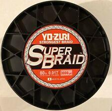3000yd 80lb Test New Yo-Zuri YZ SB 80LB BL 3000YD SuperBraid Line