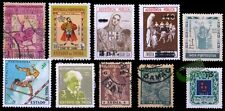 Portuguese India-Goa 10 Different Old Mint & Used Stamps