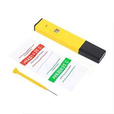 PH Meter Tester Pen Kit Soil Hydroponics liquid Laboratory Electric Professional