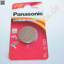 1 x CR2450 Lithium Power Battery 3V 24.5mm 5mm  Panasonic Knopfzelle 1pcs
