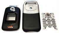 Sony Ericsson W300i W300 Cellphone Housing Keypad Lenses Battery Door Black