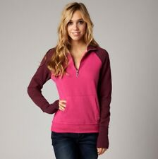 Fox Racing Womens Utilize Pullover Sweater Guava Size L