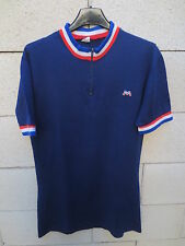 VINTAGE Maillot cycliste MOTOBECANE France cycling shirt années 70 jersey 3 M