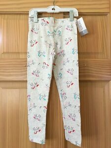 NWT Carter's Unicorn Leggings Girls Gray Many Sizes
