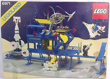Vintage Legoland espacio Lego 6971 conjunto de comando intergaláctico base de 1980s