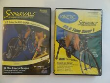 2 Spinervals Dvds: 3.0 Enter the Red Zone, 23.0 Time Saver 1 Boxaa
