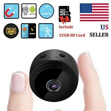 Spy Camera Wirless Hidden Wifi W/Remote Viewing Nightvision Security Camera