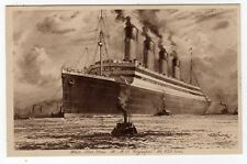"""SHIPPING, WHITE STAR LINE, R.M.S. """"OLYMPIC"""""""