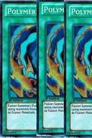 Polymerization 1st X 3 YGLD Legendary Decks yugioh Common
