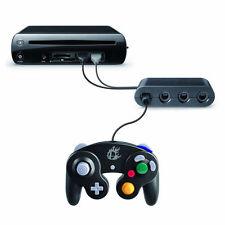 4 Ports Gamecube Controller Adapter Converter For Wii U Super Smash Bros Stock~