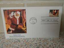 USA 1991 FIRST DAY COVER-- SANTA,s EXIT