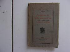 Jean RAPHANEL Etude sur style dramatique d'après théatre d' Albert du Bois 1923