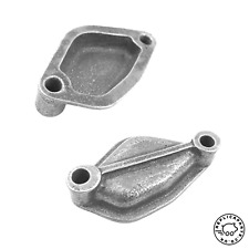 Porsche 356 912 Fuel Pump Mount Point Blanking Plate Cast Alloy with Gasket