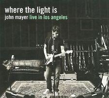 Where the Light Is: John Mayer Live in Los Angeles [Slipcase] by John Mayer (CD,