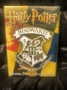 Warner Bros Harry Potter Playing Cards NEW Sealed Movie House Themed Hogwarts