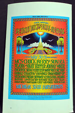 SUN RA AND MC5 CONCERT wall Poster Print Art #02 A3 Size