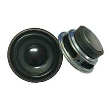 2pcs 52mm Round Speaker 4Ω 3W~5W Full range Loudspeaker Home Audio Parts