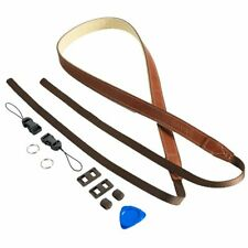 CANPIS Brown Adjustable Leather Shoulder Neck Camera Strap For Nikon Canon Sony