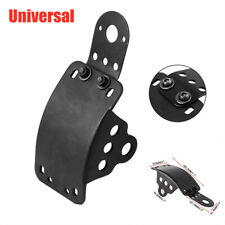 Universal Motorcycle Side Mount License Plate Taillight Bracket w/Mounting Bolts