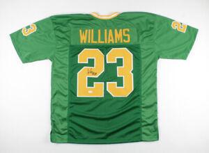 Kyren Williams Signed Notre Dame Fighting Irish Jersey (JSA COA) 2021 Junior R.B