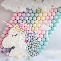 30/50Pcs 5'' Macaron Latex Balloons Wedding Party Baby Shower Birthday Decor