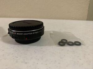 VILTROX EF-M2 II Auto  Lens Mount Adapter 0.71x