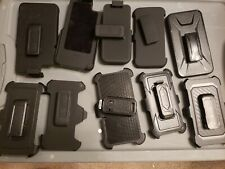 (10-pack Lot)(mixed sizes)Cellphone Belt Plastic Clips.lot#1