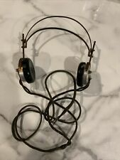 Vintage Cannon-Ball Dixie Antique Headset Headphones