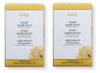 GiGi Small Facial Waxing Wood Applicators 2 - Packs 100pk  #0400 ***