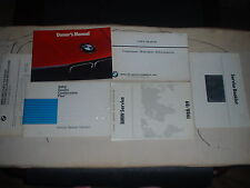 1989 BMW Convertible 325i Owners Manual