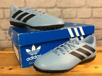 ADIDAS BOYS UK 5 NEMEZIZ MESSI TANGO 18.4 TF FOOTBALL SHOES BLUE J