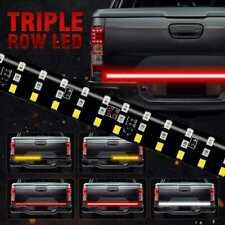 "New listing 6 Modes 60"" 432Led Truck Strip Tailgate Light Bar 3Row Reverse Brake Signal Tail"
