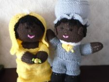 New Hand Knitted Bride and Groom Soft Toys