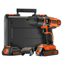 Black & Decker EGBL188KB Perceuse visseuse sans fil 18V Coffret 2 batteries