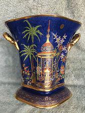 Early 20th Carlton Ware porcelain Persian pattern H Wain champagne bucket / vase