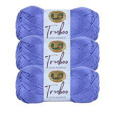 Lion Brand Yarn 837-146 Truboo Yarn, Thistle (Pack of 3 skeins)