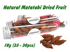 18g Japanese Matatabi Polygama Natural Catnip Chew Fruit Treat Cat Toy Relaxing