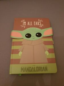 Star Wars The Mandalorian Baby Yoda A5 Notebook Note Book Journal Stationery