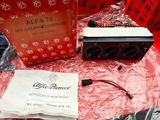 Alfa Romeo 75, SZ, RZ Heater Controls (60741249; 60741416)