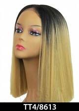 YARA LOB | AUBURN / BLACK / GREEN/BLUE | SYNTHETIC | LACE FRONT WIG | BOBBI BOSS