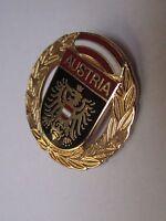 Badge Broche / blason Austria (Autriche - EGF diamètre: 2,5 cm)