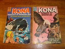 Kona #13 & #18, 1965 and 1966 Dell Comics