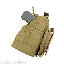 Condor Tactical Ambidextrous Beretta Pistol Holster & Mag pouch -Tan #HBERETTA