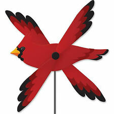 Cardinal Bird Staked Wind Whirl Wing Bird Whirligig..24.... PR 21801