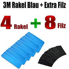 3M RAKEL BLAU 4 STÜCK + FILZ 8 STÜCK - Folierung - Carwrapping