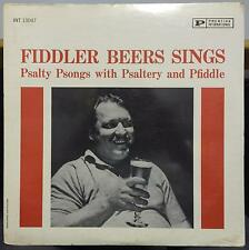 FIDDLER BEERS sings psalty psongs with psaltery & pfiddle LP Sealed INT 13047